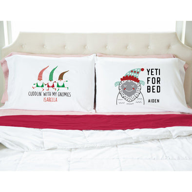 Personalized Christmas Pillowcases -  - Qualtry