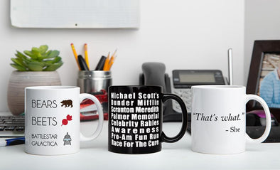Personalized The Office Mug Collection -  - Qualtry