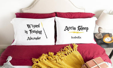 Personalized Wizard Pillowcases -  - Qualtry