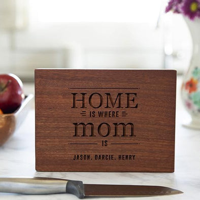 Personalized Mahogany Cutting Boards for Mom -  - Qualtry