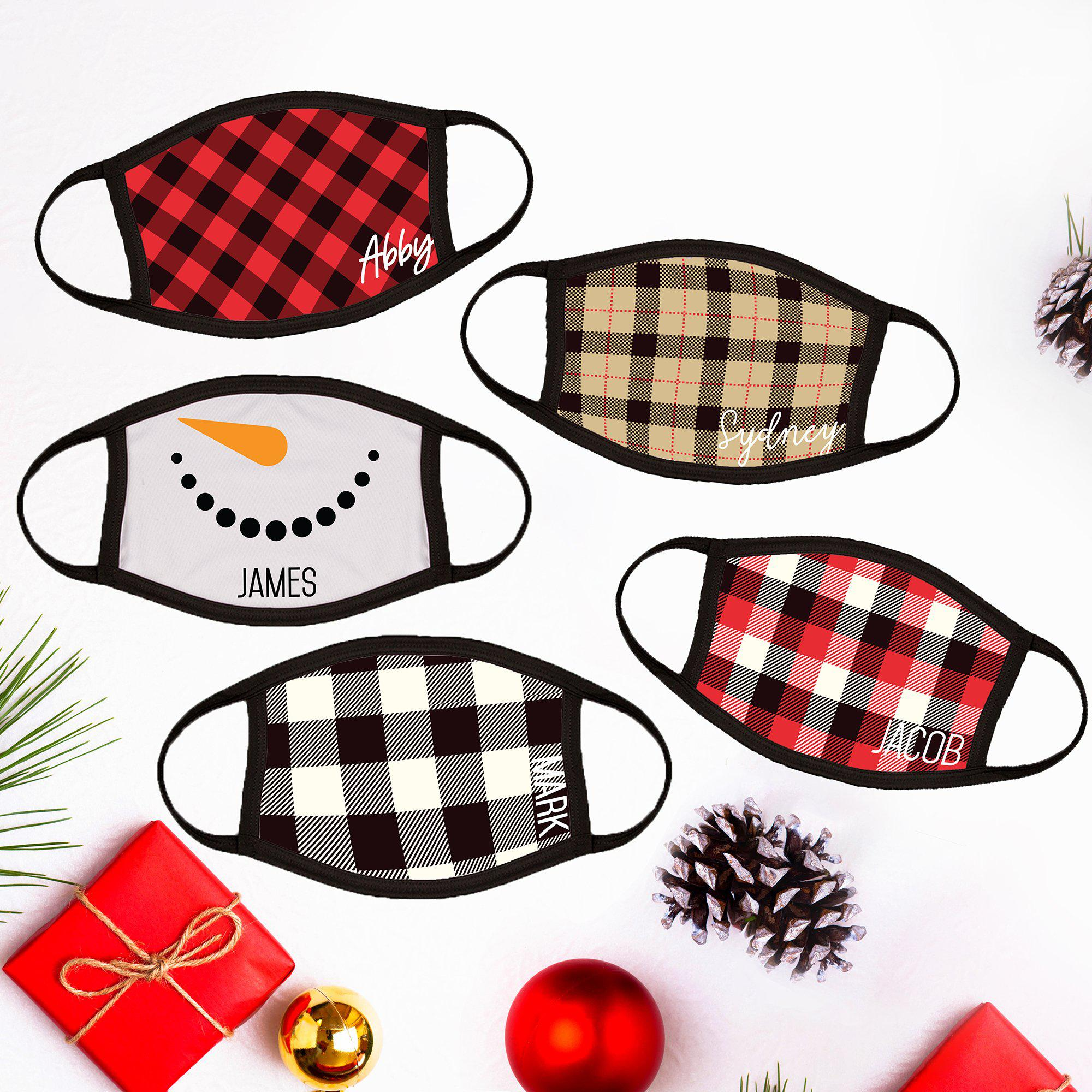 Personalized Winter Adult Face Coverings