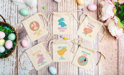 Personalized Easter Gift Bags -  - Qualtry