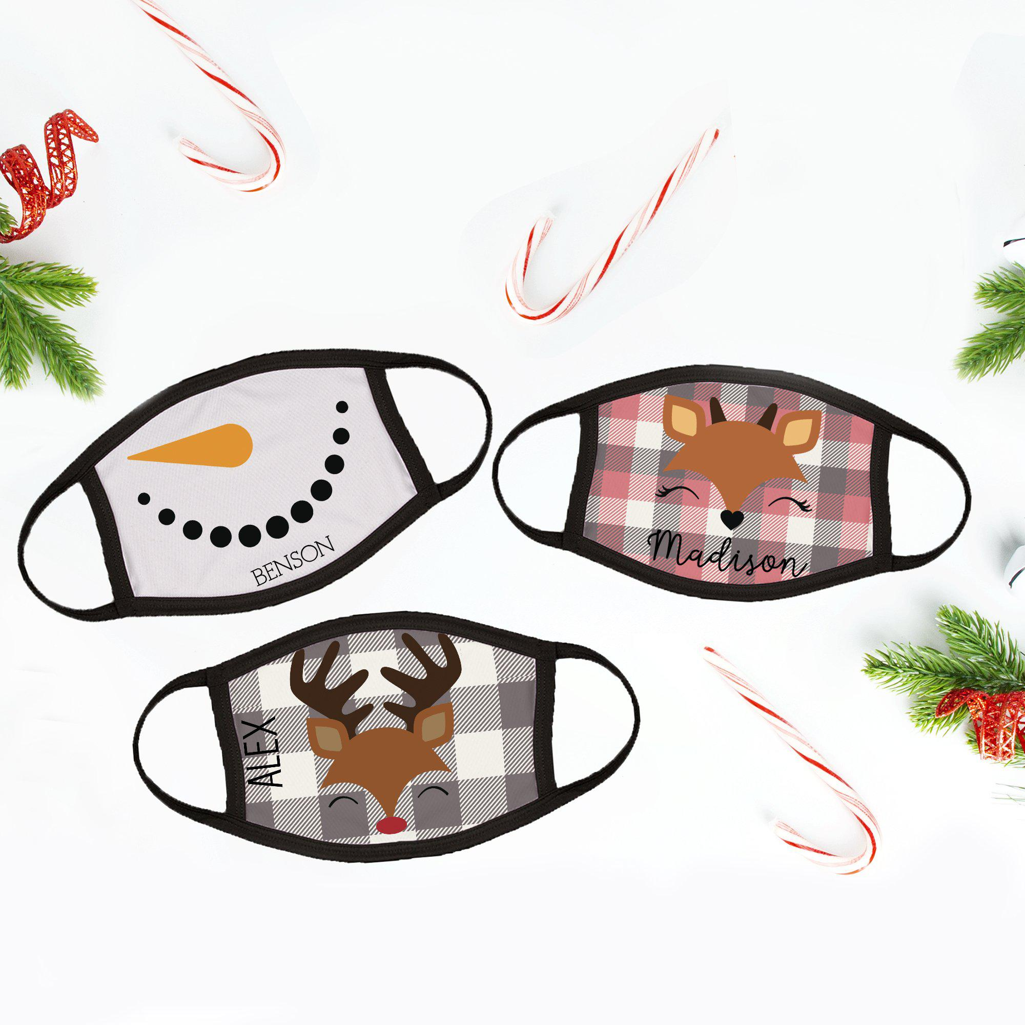 Personalized Winter Childrens Face Coverings