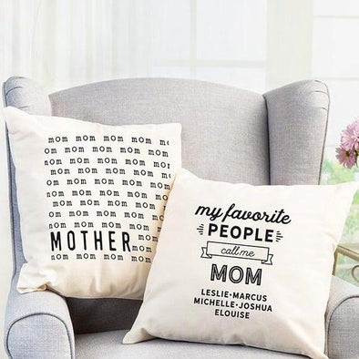 Personalized Throw Pillow Covers for an Awesome Mom -  - Qualtry