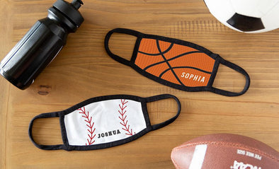 Personalized Sports Face Coverings for Children and Adults -  - Qualtry