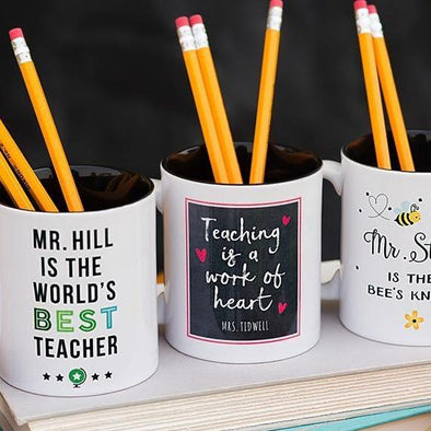 Personalized Teacher Mugs -  - Qualtry