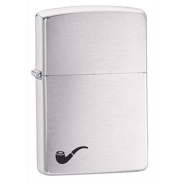 Personalized-Zippo-Brushed-Finish-Pipe