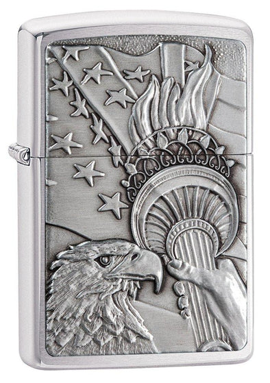 Personalized Patriotic Eagle Zippo Lighter -  - Zippo