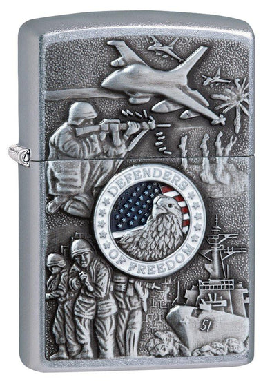 Personalized Joined Forces Zippo Lighter -  - Zippo