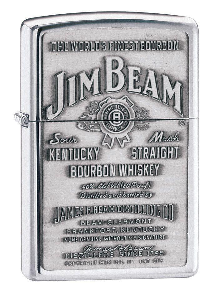 Personalized-Lighters-Jim-Bean-Chrome-Executive-Gifts