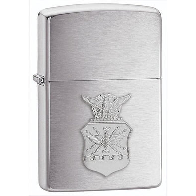 Personalized Armed Forces Zippo Lighter  - All Branch's Emblems - AirForce - Zippo
