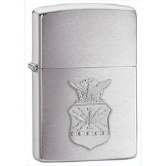 Personalized Zippo Lighter - Air Force, Army Emblem, Marines Emblem, Navy
