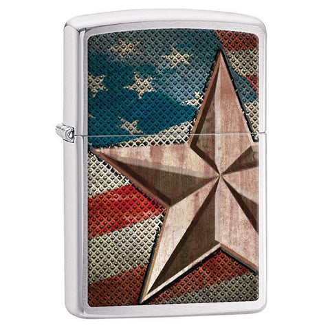 Personalized Zippo Retro Star Lighter -  - Zippo Lighters & Gifts - AGiftPersonalized