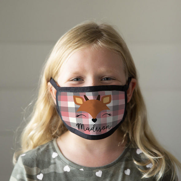 Personalized Winter Children's Face Coverings -  - Qualtry