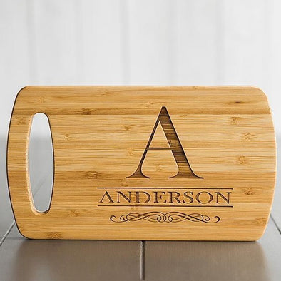 Personalized Easy Carry Cutting Board -  - Qualtry