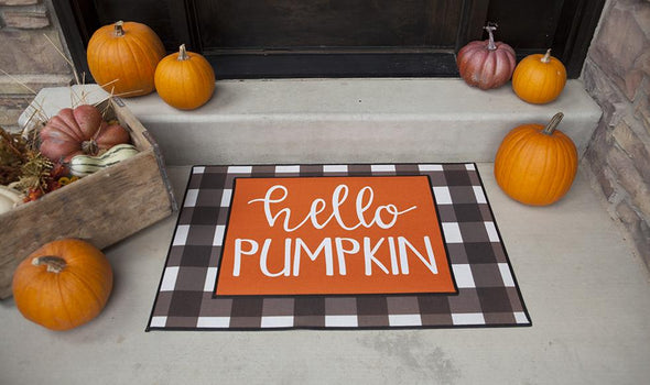 Personalized Layered Fall Doormat Sets -  - Qualtry