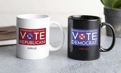Personalized Political Mugs -  - Qualtry