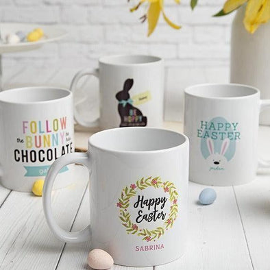 Personalized Easter Mugs -  - Qualtry
