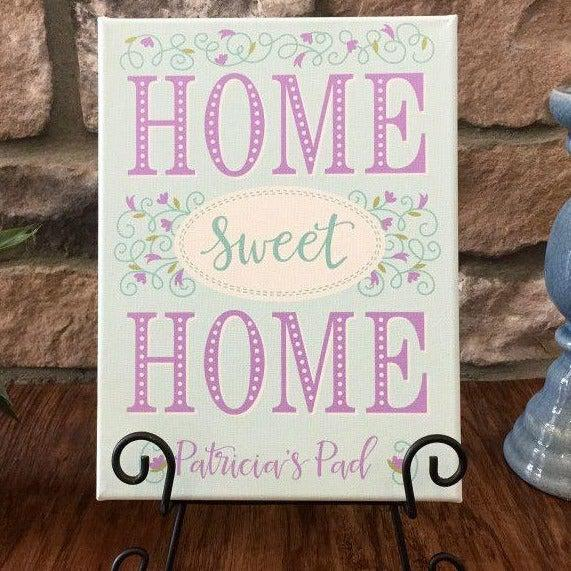 Personalized Home Sweet Home Signs (9x12)