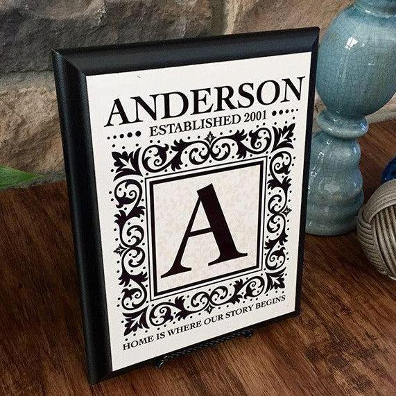 Personalized 9x7 Wall Plaques -  - Qualtry