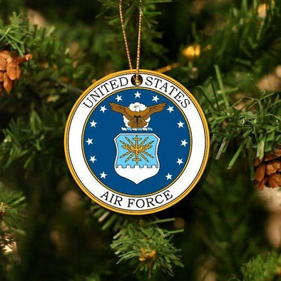 Personalizable Armed Services Christmas Ornaments -  - Qualtry