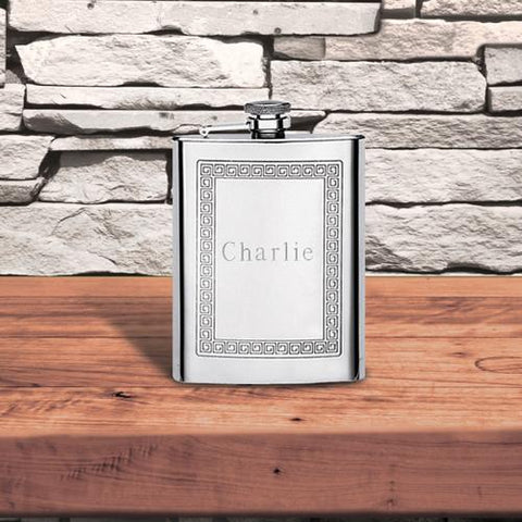 Personalized Fun Print Flasks -
