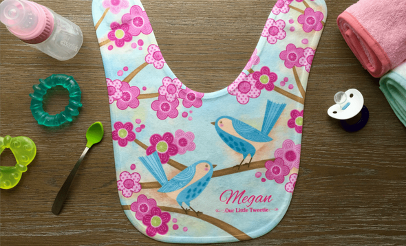 Personalized Baby Bibs - 8 Designs -  - Qualtry