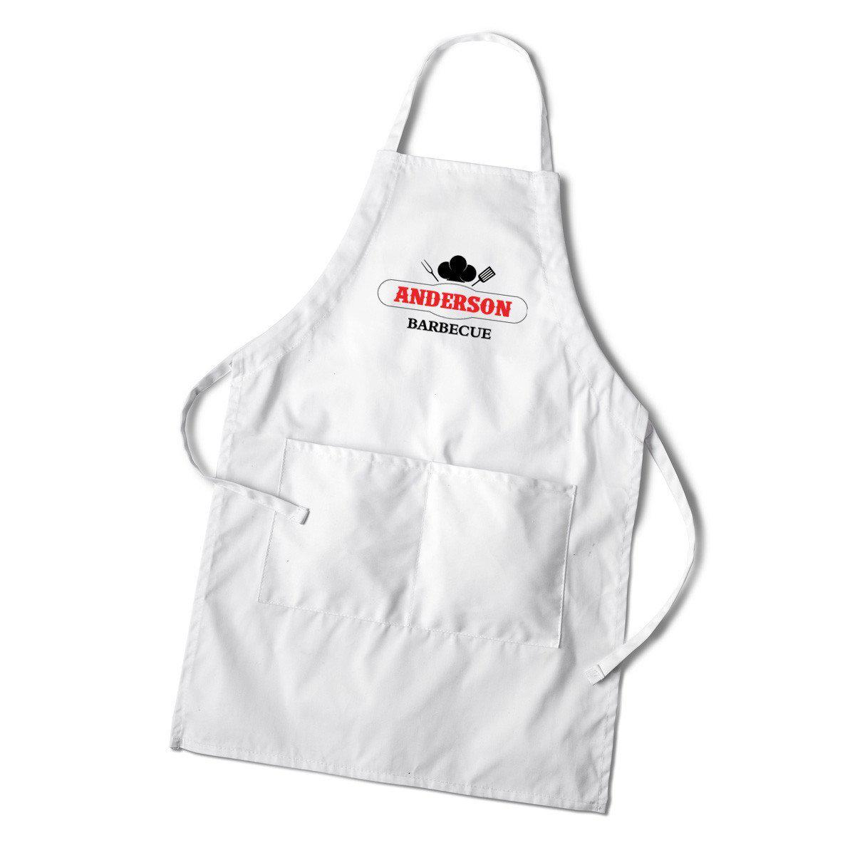 Personalized BBQ and Grilling Apron