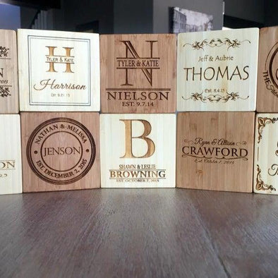 Personalized Decorative Blocks -  - Qualtry