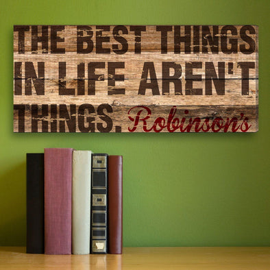 Best Thing In Life Personalized Canvas Print -  - JDS