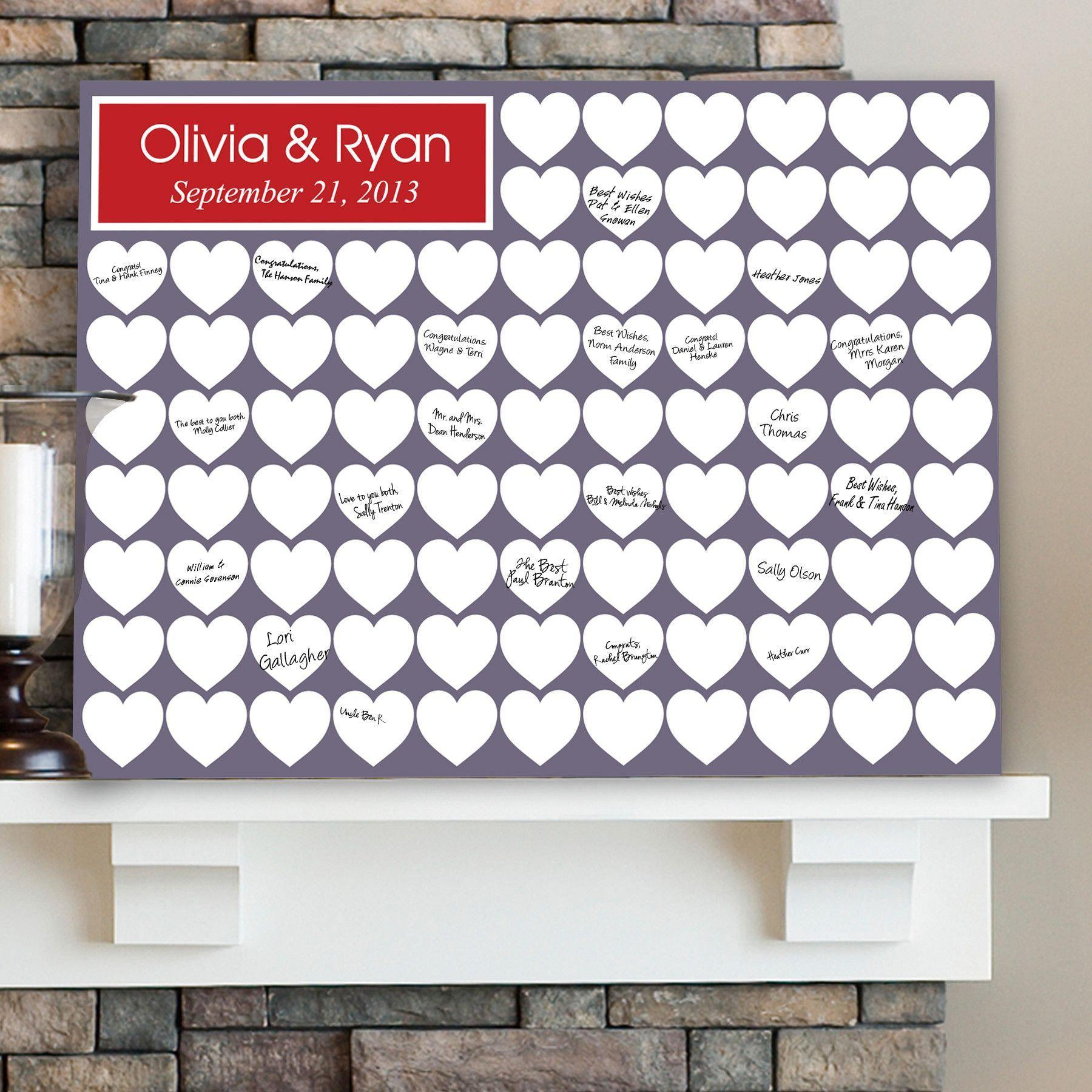 Personalized-Guestbook-Canvas-Love-Family-Friends