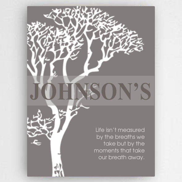 Personalized Inspirational Canvas Sign -  - JDS