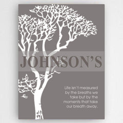 Personalized Inspirational Canvas Sign -