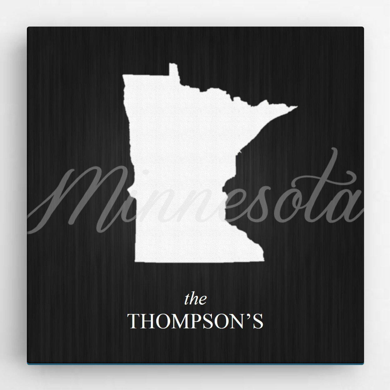 Personalized-State-Canvas-Sign