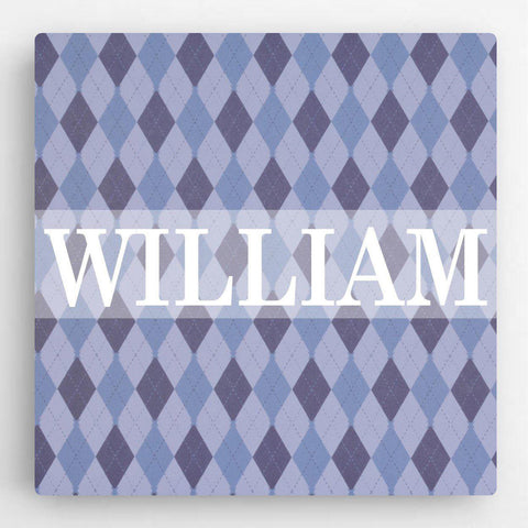 Personalized Pattern Kids Canvas Sign -  - Canvas Prints - AGiftPersonalized