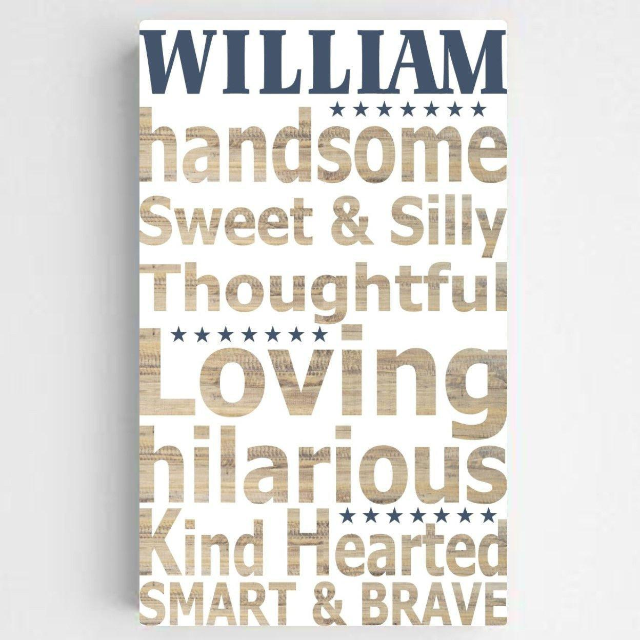 Personalized-Boy-Definition-Canvas-Sign