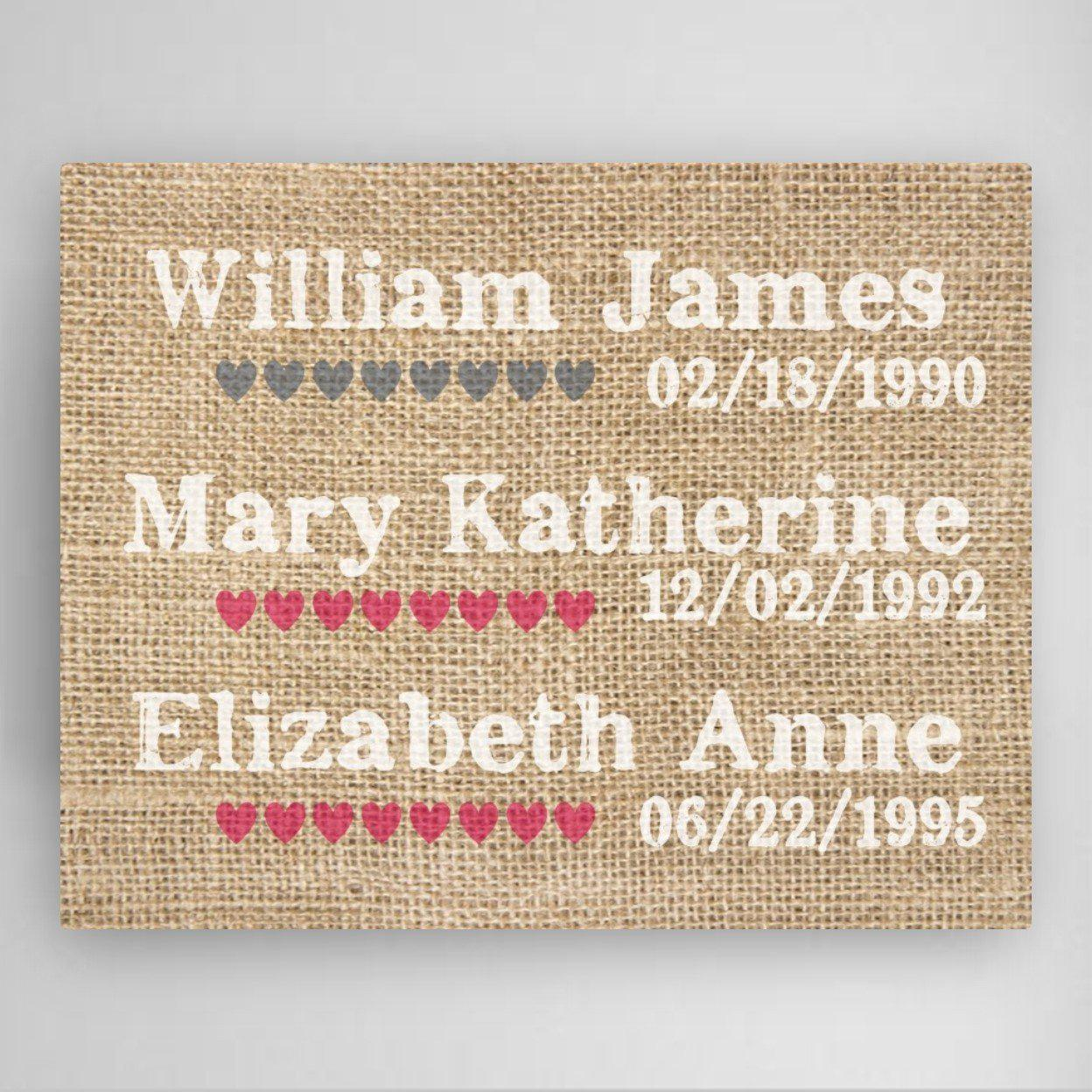 Personalized-Our-Kids-Canvas-Sign