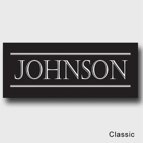 Personalized Family First Canvas Sign - Classic, Elegant, or Script - Classic - Canvas Prints - AGiftPersonalized