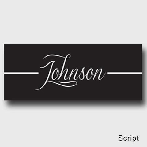 Personalized Family First Canvas Sign - Classic, Elegant, or Script - Script - Canvas Prints - AGiftPersonalized