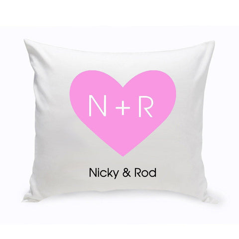 Personalized Couples Unity Throw Pillow - CarvedHeart