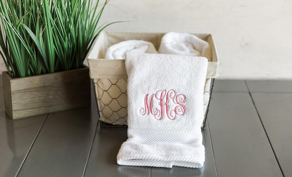 Personalized Luxury Bath Towels -  - Qualtry