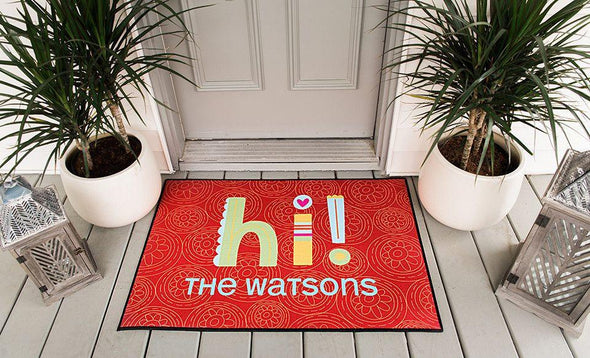 Personalized Door Mats - Medium - Qualtry