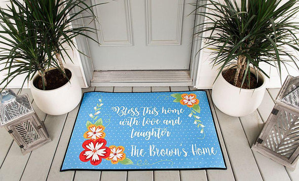 Personalized Door Mats - Large - Qualtry