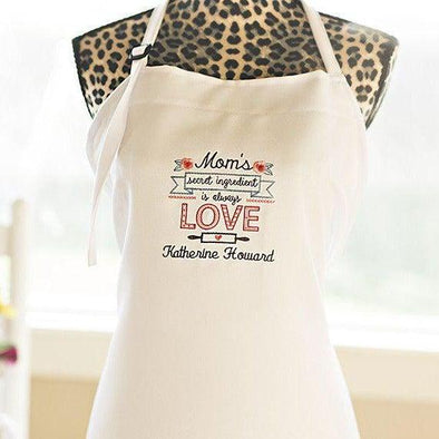 Personalized Embroidered Aprons -  - Qualtry