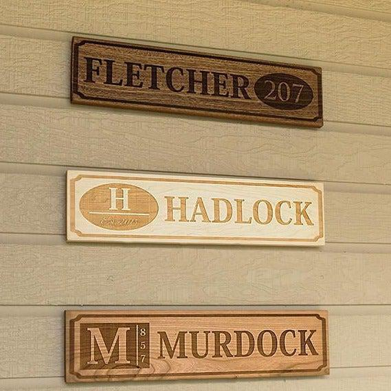 Perfectly Personalized House Signs (5X20) -  - Qualtry