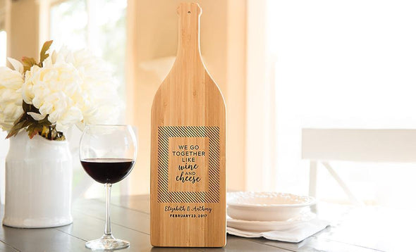Wine Bottle Shaped Cutting Boards -  - Qualtry