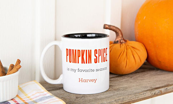 Personalized Fall Coffee Mugs -  - Qualtry