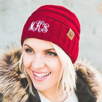 Adult Personalized Beanie Hats -  - Qualtry