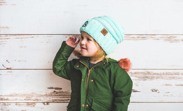 Kids Personalized Beanie Hats -  - Qualtry