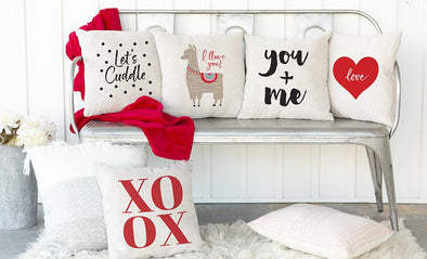 Love Collection Throw Pillow Covers -  - Qualtry